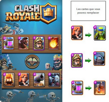 Desk Clash Royale très abordable